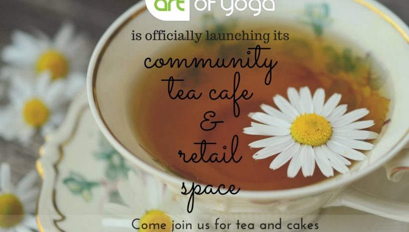 ARTea – Our New Community Space Is Launching 1st July