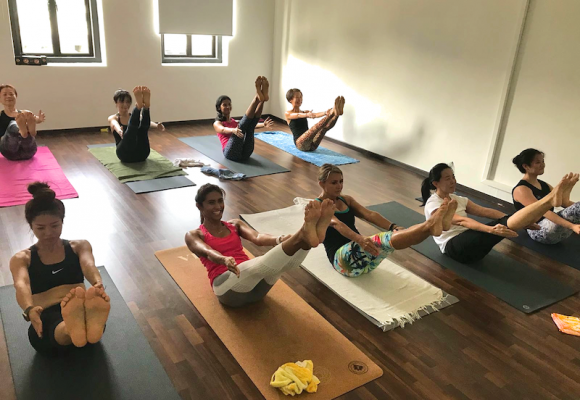 Ashtanga Yoga Led Class (Half Primary Series)